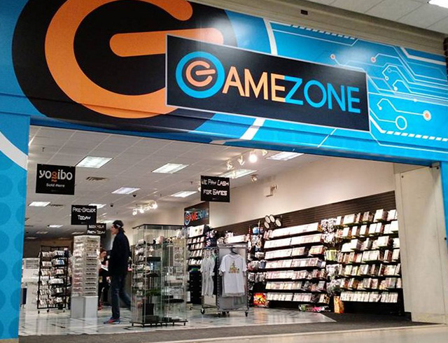 Retail gamezone
